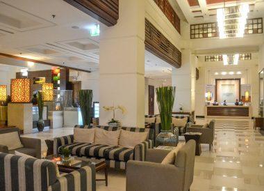 Hotel Lobby, Dusit Princess Korat Hotel. Gateway to Isaan Northeast Thailand