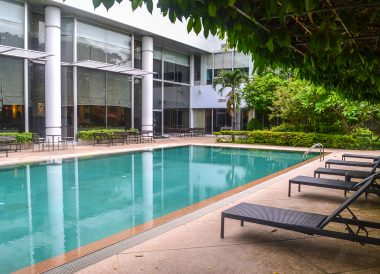 Swimming Pool, Dusit Princess Korat Hotel. Gateway to Isaan Northeast Thailand