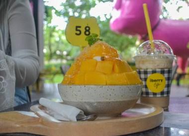 Mango Bingsu, Best Restaurants in Nimman Chiang Mai Nimmanhemin Road
