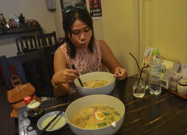 Ramen Noodles, Best Restaurants in Nimman Chiang Mai Nimmanhemin Road