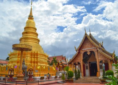 Wat Phra That Hariphunchai, Lamphun Province, Road Trips in Northern Thailand Chiang Mai
