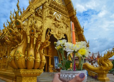 Nan Golden Temple, Road Trips in Northern Thailand Chiang Mai