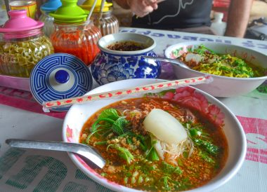 Chinese and Asian Food Road Trips in Northern Thailand