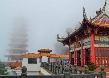 Chin Swee Temple Buddha,Awana Skyway Cable Car at Resorts World Genting