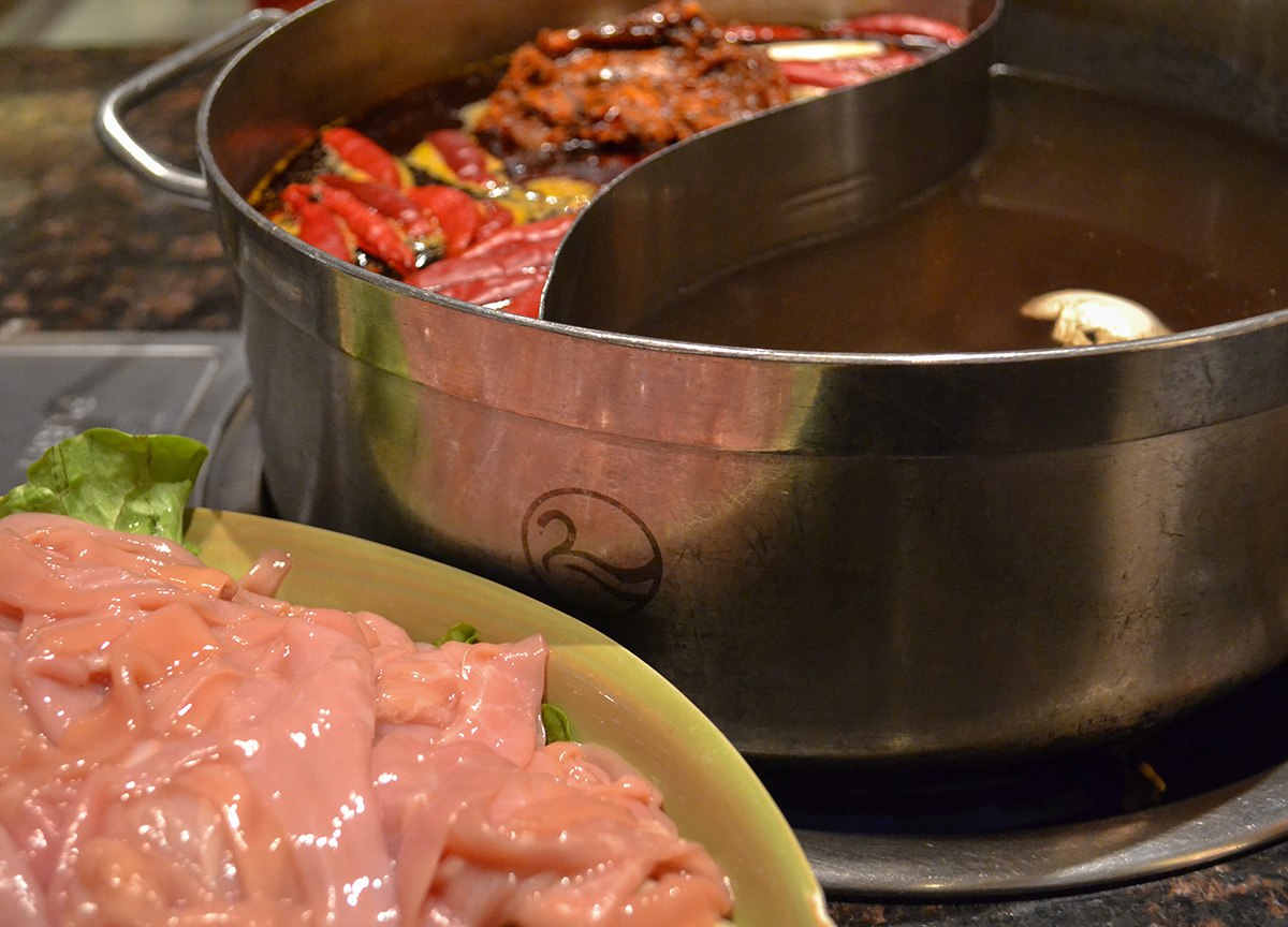 Cygnet HotPot, Sichuan Hot Pot Cygnet Chongqing China Chillies Pepper