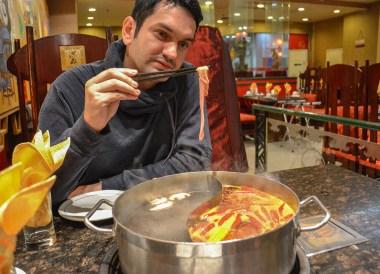 Weird Meats, Sichuan Mala Hot Pot Cygnet Chongqing China Chillies Pepper