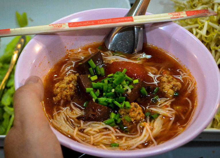 Thai Rice Noodles, Thai Noodle Soups in Thailand