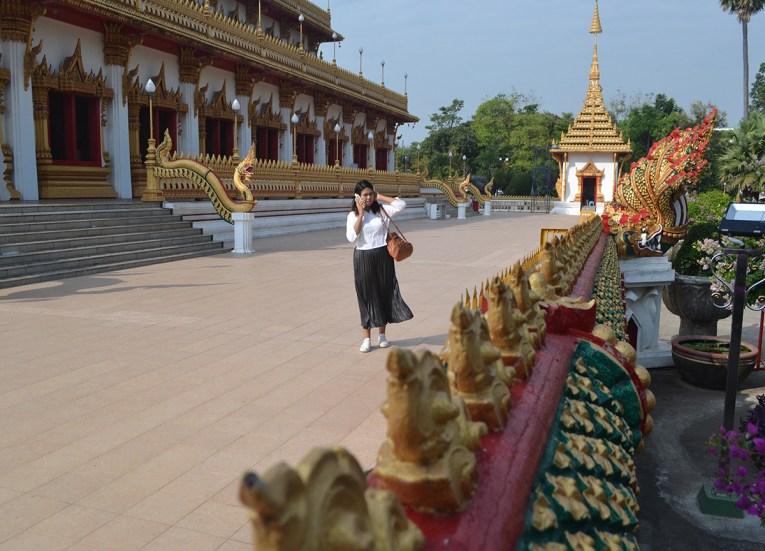 Khon Kaen Temples, Travel in Isaan Thailand (Northeast Thailand)