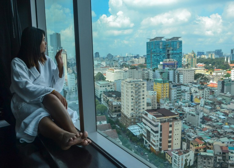 City Views, Le Méridien Saigon Riverside Hotel in Ho Chi Minh