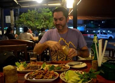 Allan Wilson, Thai Isaan Food, Eating in Northeastern Thailand