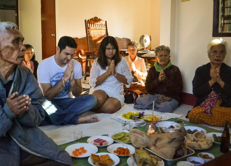 Family Ceremony, Living Like a Local in Bangkok:
