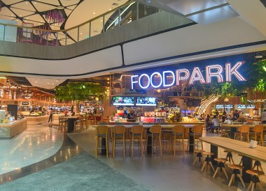 Food Park at Central Plaza Mall in Korat Nakhon Ratchasima