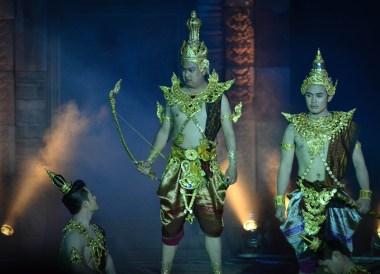 Gods and Legends, Phanomrung Festival Historical Park, Buriram Thailand