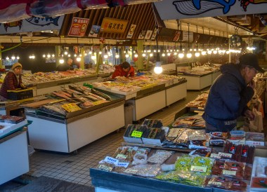 Hakodate Fish Market, tourist attractions in hakodate hokkaido japan