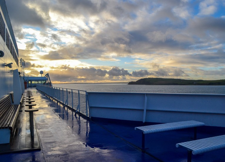 Belfast to Cairnryan by Stenaline: Road Trip Crossing the Irish Sea