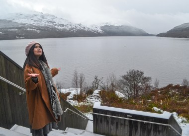 Loch Lomond, Winter Road Trip in the Scottish Highlands Snow Scotland (3)