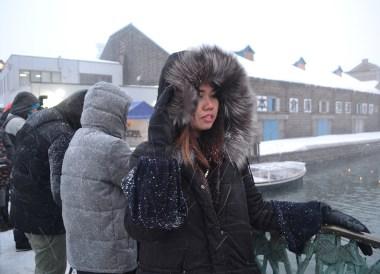 Canal Bridge, Travel to the Otaru Light Festival in Hokkaido Japan on JR Pass