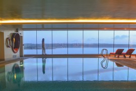 Pool Views at Cliff House Hotel Ardmore Waterford Ireland