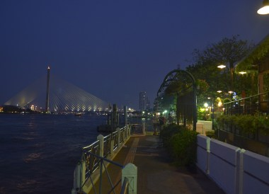Chao Phraya Riverside, Best Places for Cycling in Bangkok Safely (Thailand)
