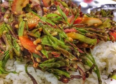 Tea leaf salad, Best Vegan Restaurants in Chiang Mai