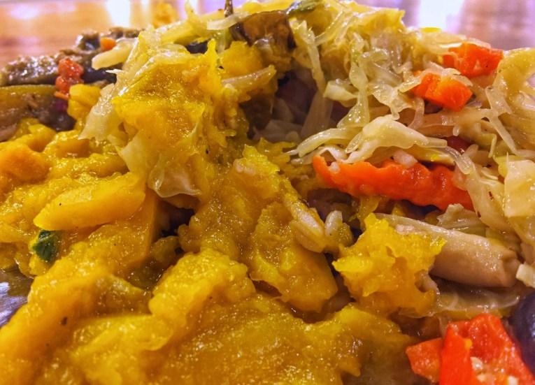 Vege food at Maya, Best Vegan Restaurants in Chiang Mai
