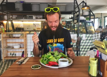 Jub the Tiki Touring Kiwi, Best Vegan Restaurants in Chiang Mai