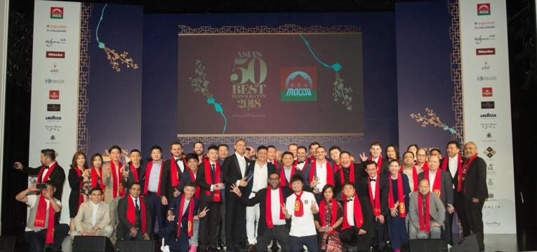 Asia's 50 Best Restaurants at Wynn Macau Press Media