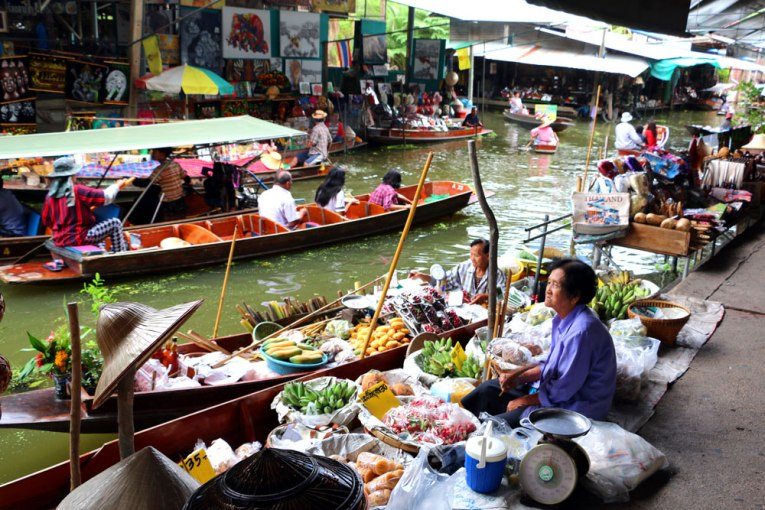 Damnoen Saduak, Best Markets in Bangkok for Tourists