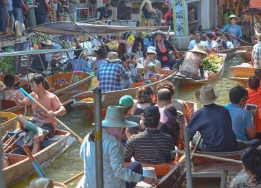 Damnoen Saduak, Day Trip Bangkok to Kanchanaburi Tour, Thailand