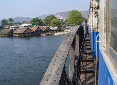 Train Over River Kwai, Day Trip Bangkok to Kanchanaburi Tour, Thailand