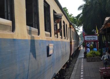 River Kwai Station, Day Trip Bangkok to Kanchanaburi Tour, Thailand