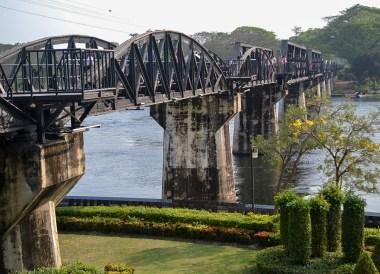 Bridge Over River Kwai, Day Trip Bangkok to Kanchanaburi Tour, Thailand