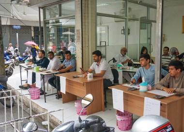 Traders on Chanthaburi Gem Street, Travel in Eastern Thailand