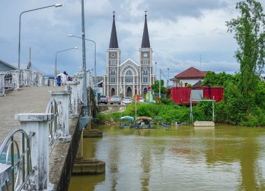 Cathedral of the Immaculate Conception, Travel in Eastern Thailand