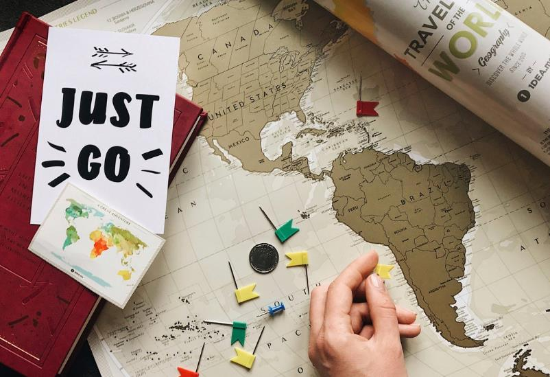 how a scratch off travel map can help with travel tracking