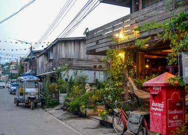 Hotel Guesthouses, Tourist Attractions in Chiang Khan Thailand, Loei Province
