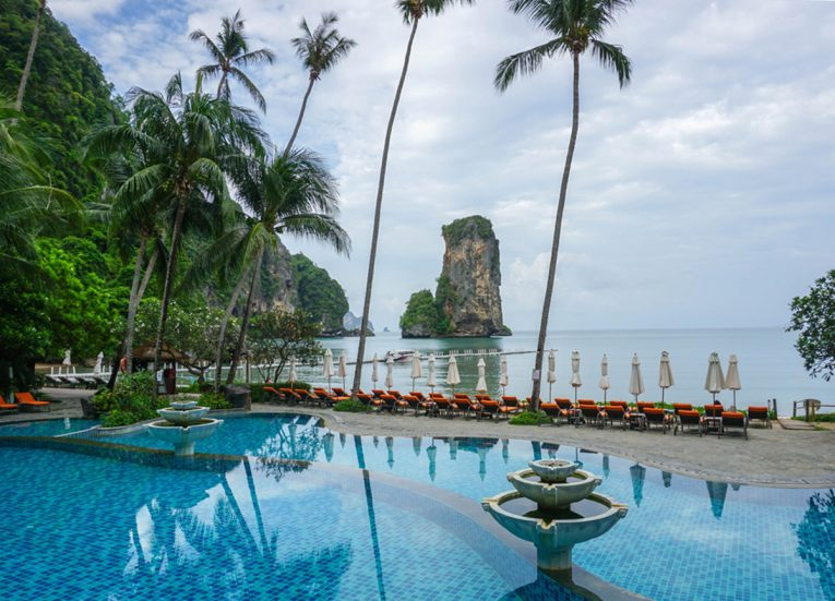 Swimming Pool, Centara Grand Resort and Villas Ao Nang Krabi Thailand