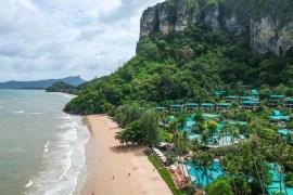Drone Footage, Centara Grand Resort and Villas Ao Nang Krabi Thailand