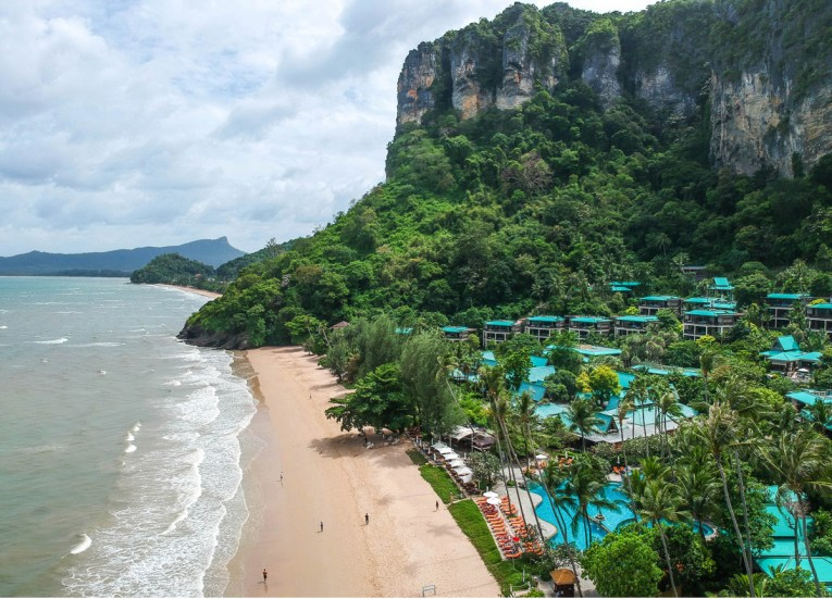 Drone Footage, Centara Grand Resort and Villas Ao Nang Krabi Thailand