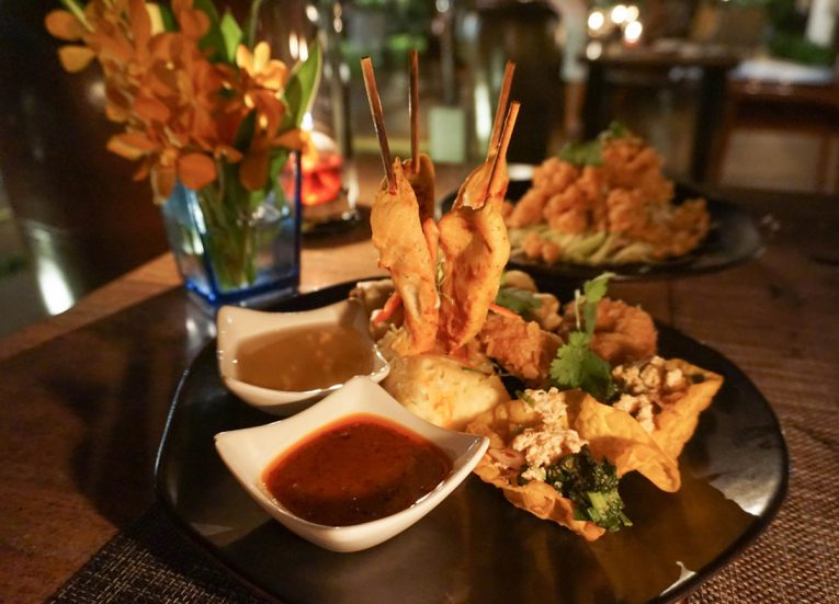 Thai Platter, Centara Grand Resort and Villas Ao Nang Krabi Thailand