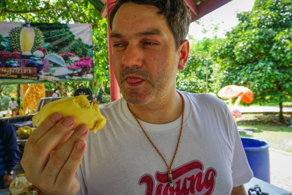 Allan Wilson, Thailand, Suppathra Land Fruit Farm East Thailand Travel in Rayong Province
