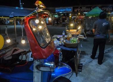 Bangkok Night Markets, Huamum Night Market in Bangkok Thailand