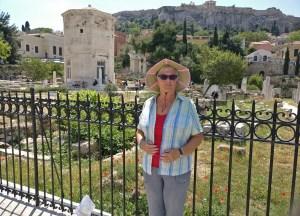 Anne Wilson, Suez Canal Cruise Destinations, Round the World Cruise
