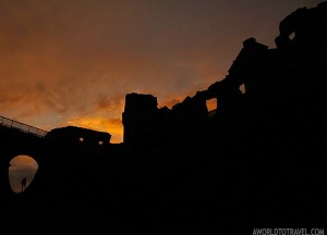 Dunluce Castle at Dawn Day Trips from Belfast in Northern Ireland