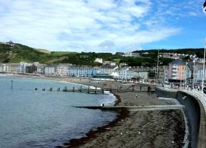 aberystwyth_wales, Best Tourist Seaside Towns in Britain UK