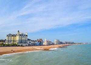 Eastbourne Beach, Best Seaside Towns in Britain UK