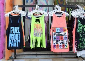 Full Moon T Shirt. Shopping for Thailand Souvenirs / Thai Gifts in Bangkok