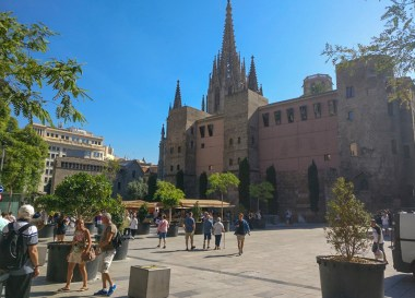 Barcelona Mediterranean Cruise from Cobh in Cork Ireland and UK