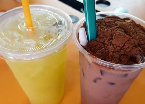 Ice Milo Drink, Best Asian Street Food Eating Cheap in Asia