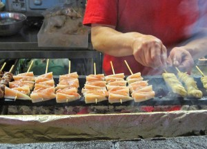Yakitori Grills in Japan, Best Asian Street Food Eating Cheap in Asia